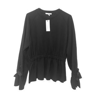 NWT Oak & Fort Black Sweater